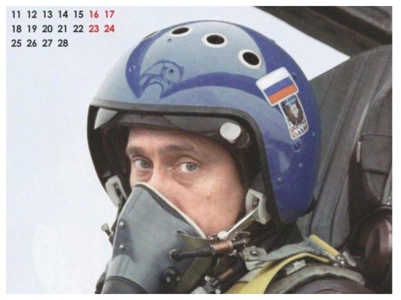 Putin - pilot