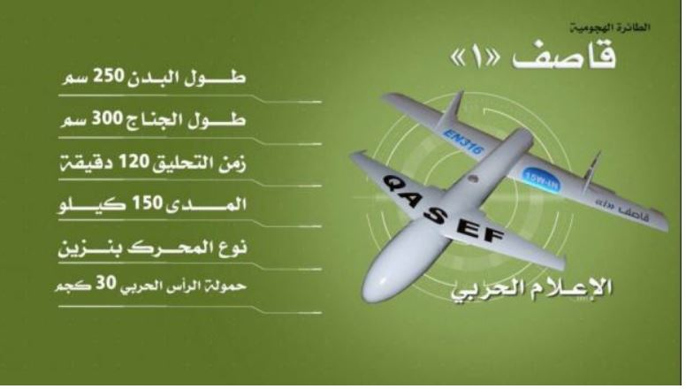 Quasef - 1, hutujsko-iranski dron