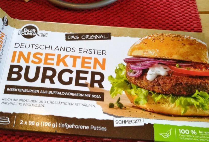 Prvi nemški burger iz insektov