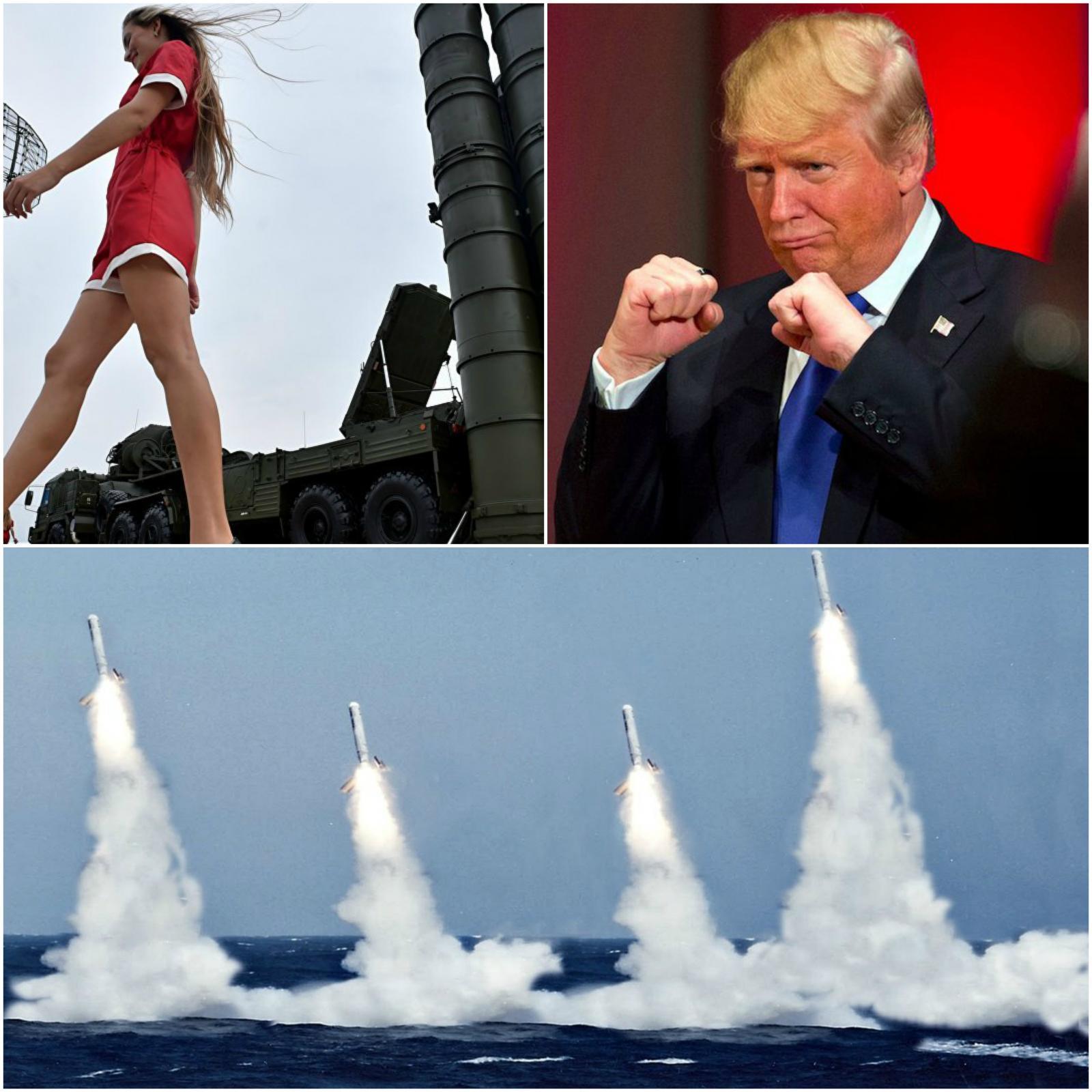 S-400 proti Tomahawkom - bojeviti Trump