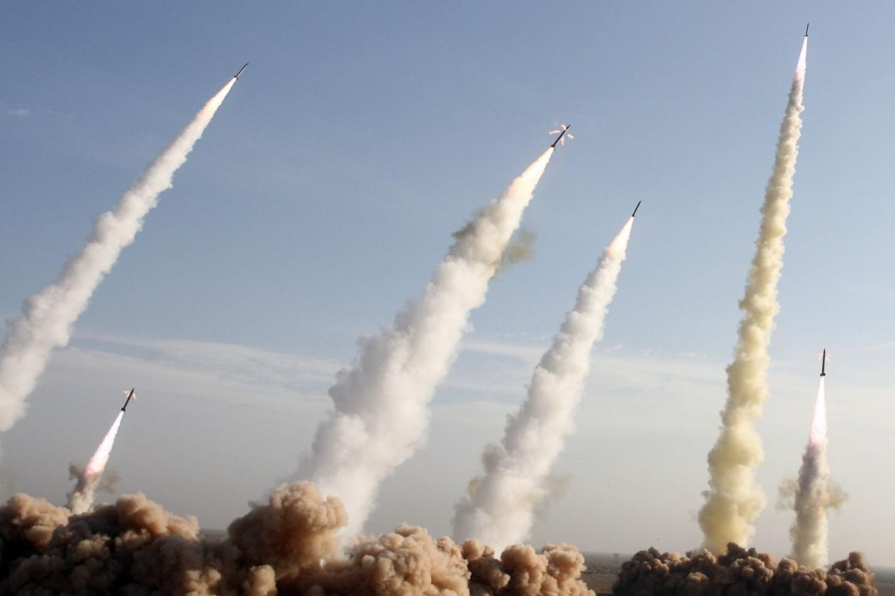 Iranske rakete - manevri Vir:Fox News, YouTube