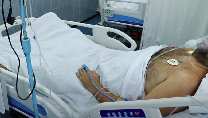 Ranjeni v Kosovski Mitrovici  Vir: Twitter