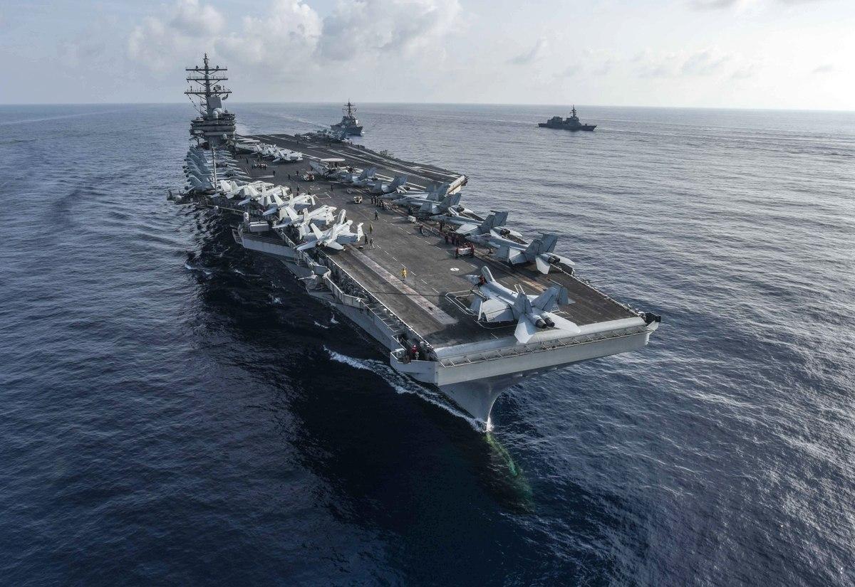 Ronald Reagan Vir:US Navy