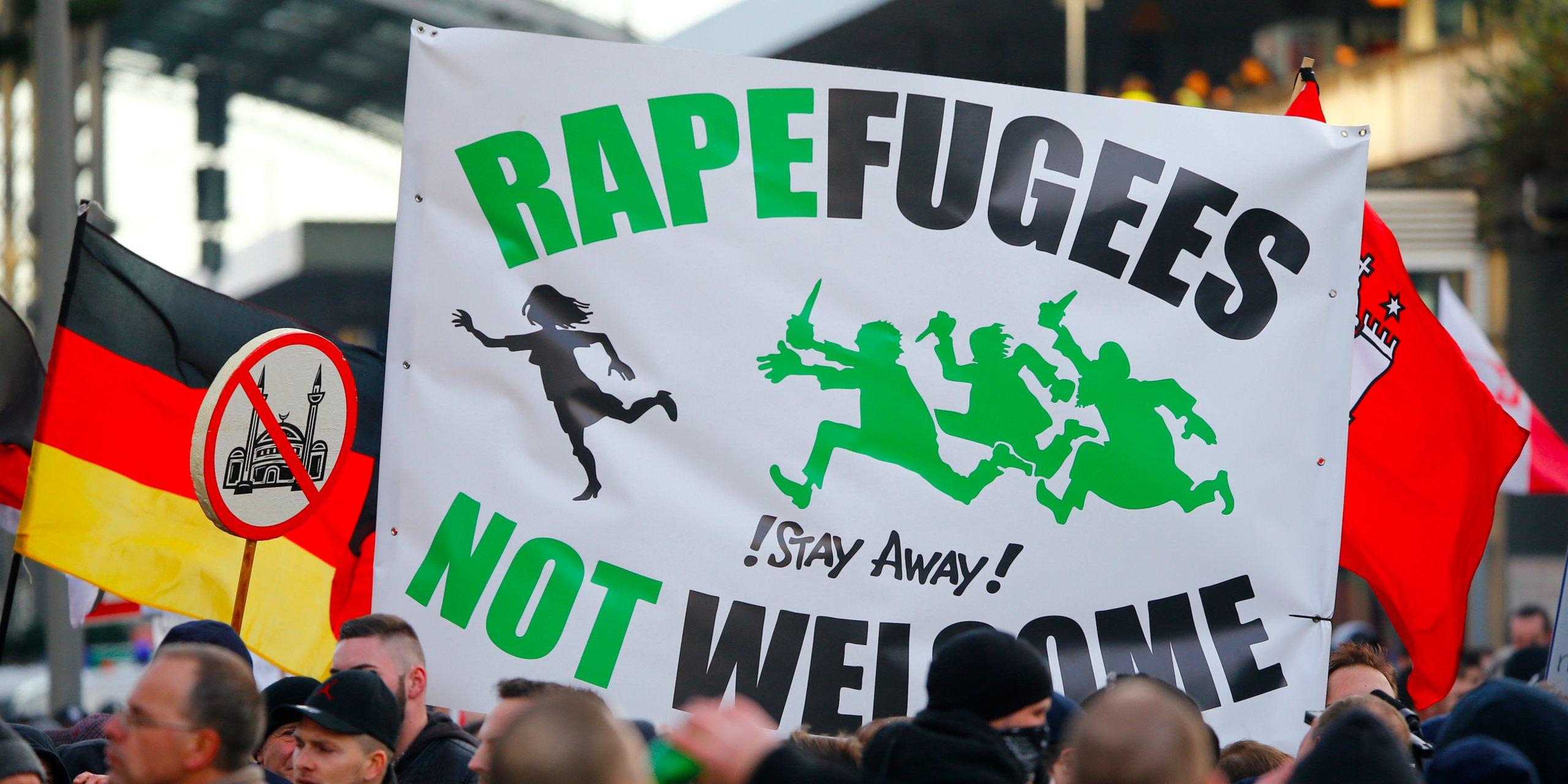 Protibegunske demonstracije - Nemčija