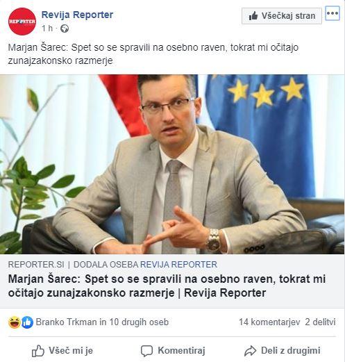 Reporter - Šarec