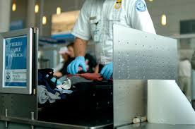 Preiskava na letališču Vir:NY Post