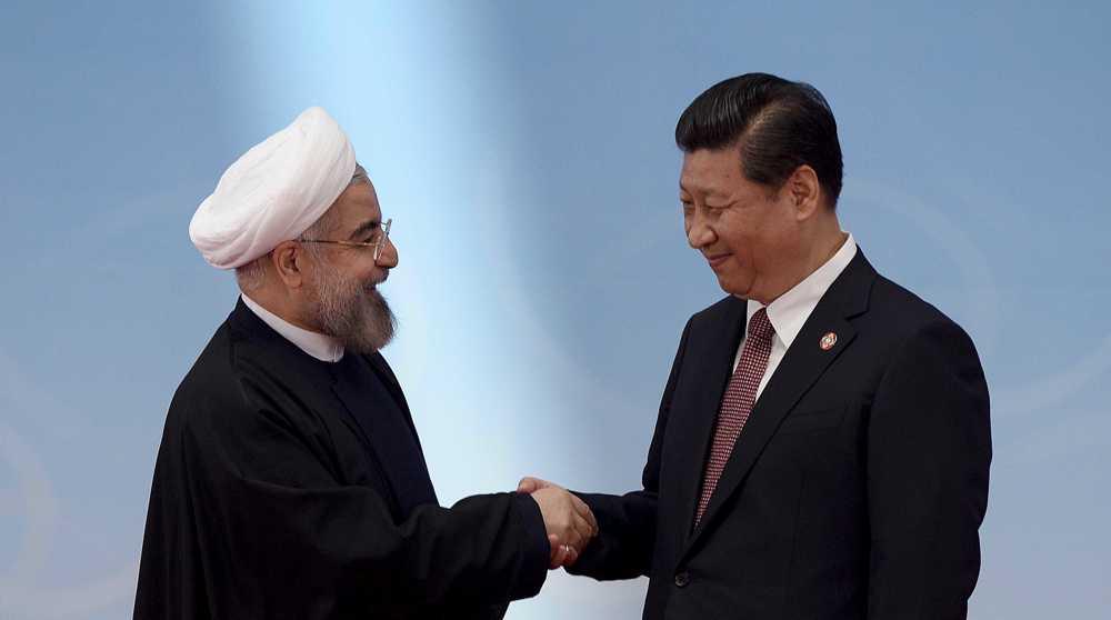 Hassan Rouhani in Xi Jinping Vir:Press TV