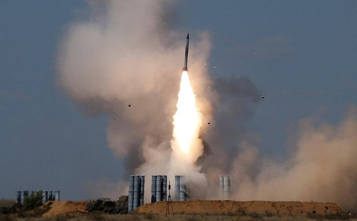 S-300 izstrelitev Vir:Reuters