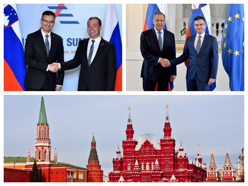 Marjan Šarec in Rusija