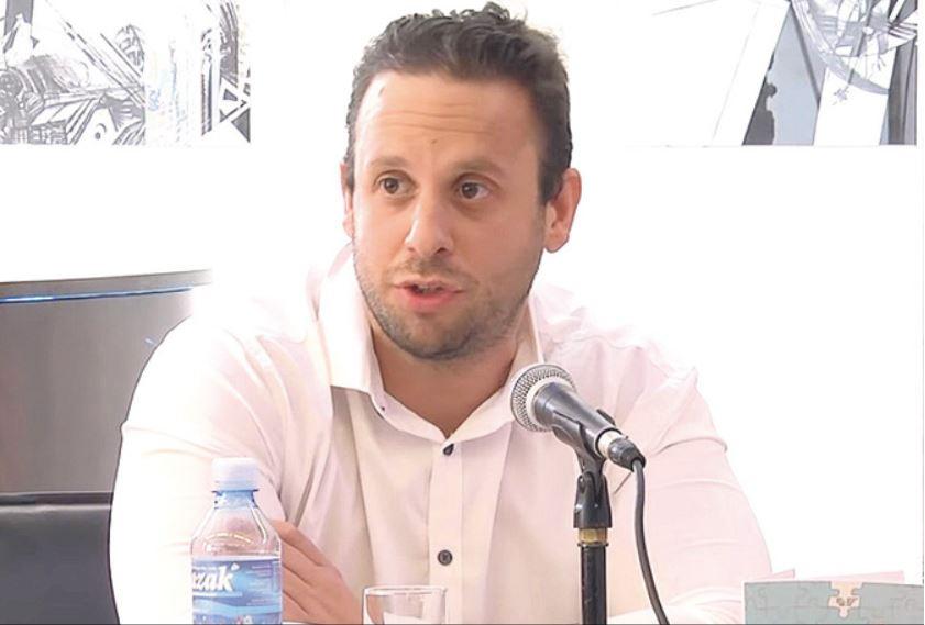 Goran Šarić, hrvaški teolog. Vir: YouTube