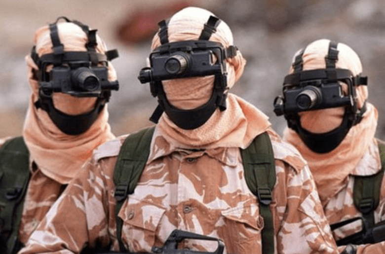 Pripadniki SAS