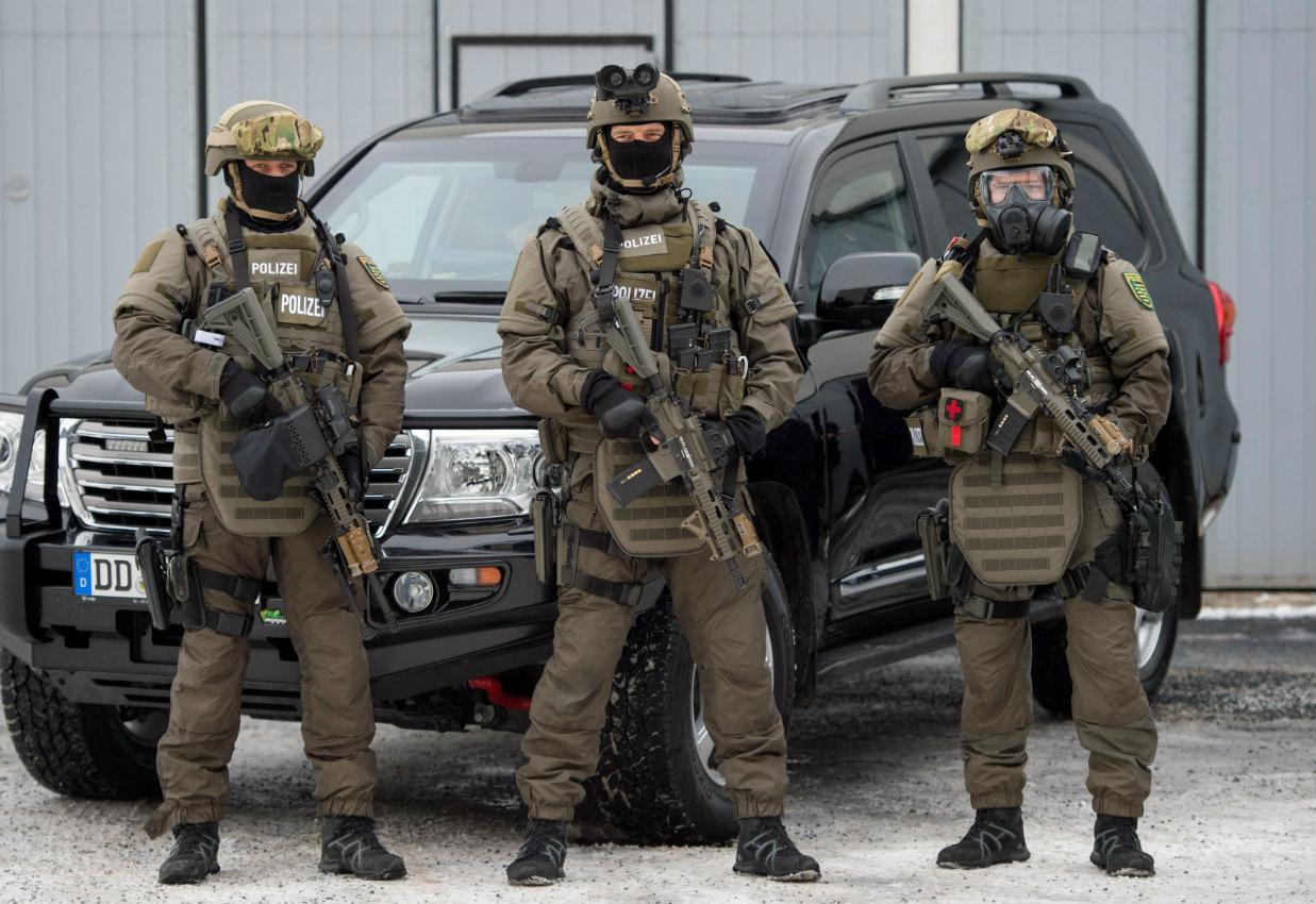 Policija Sek   Vir: thelocale.de