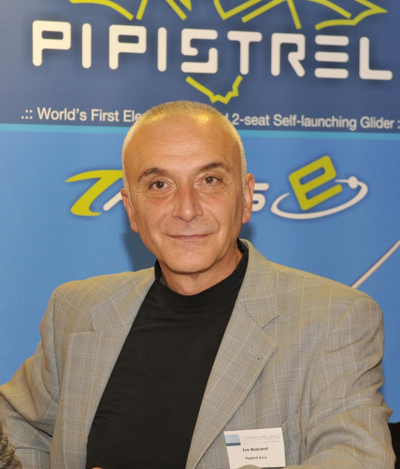 Ivo Boscarol Vir: www.pipistrel.si