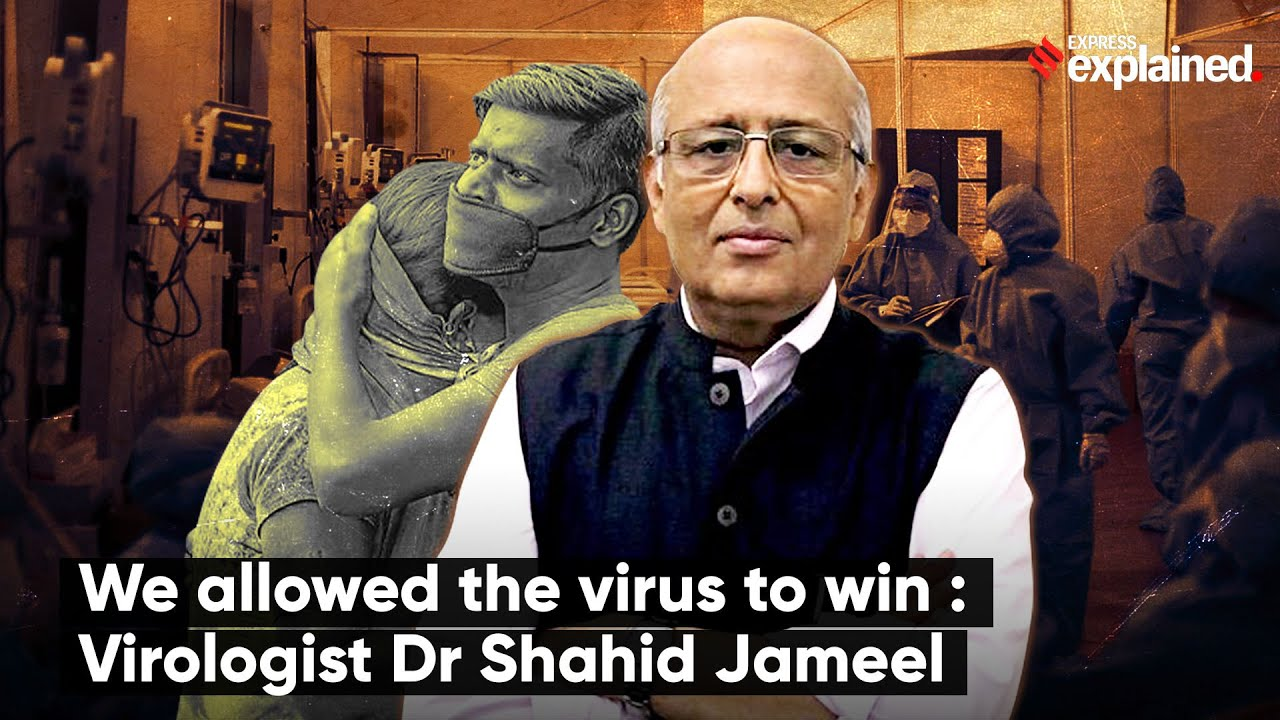 Shahid Jameel  Vir: You Tube posnetek zaslona