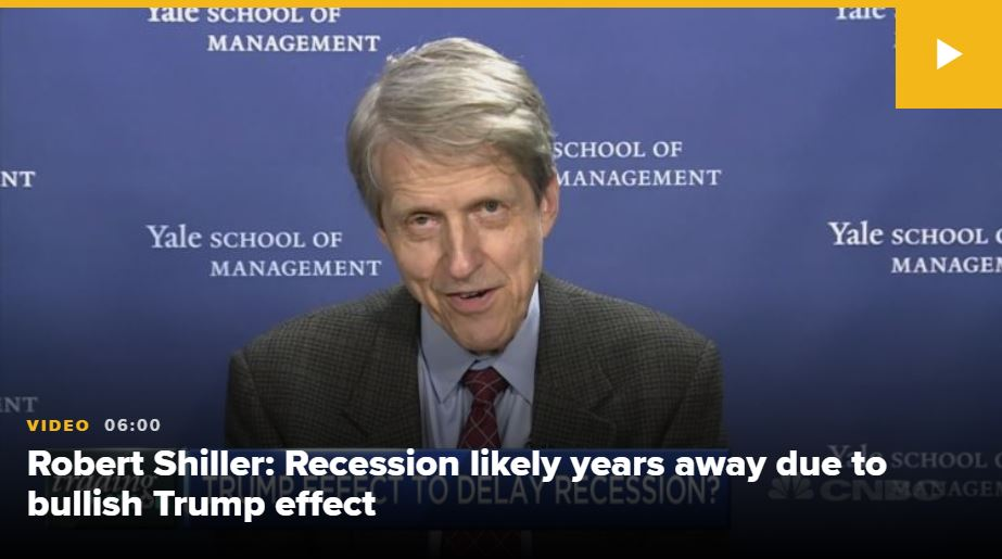 Robert Schiller Vir: CNBC