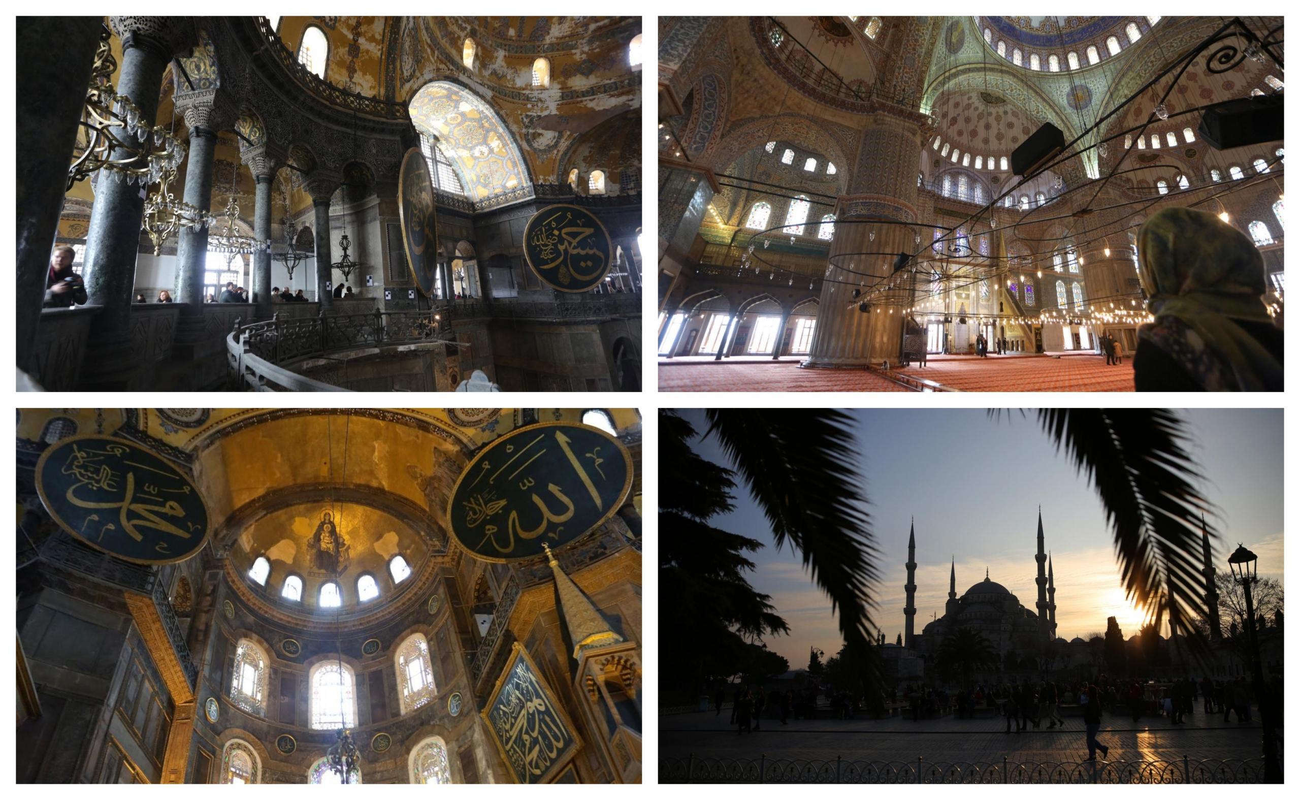 Hagija Sofija v času, ko še ni bila mošeja