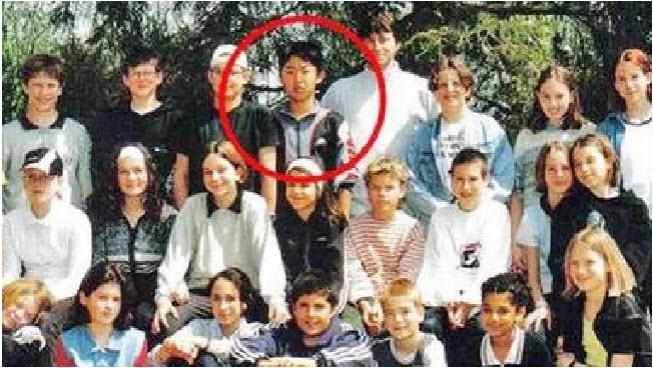 Kim Jong Un - šolar