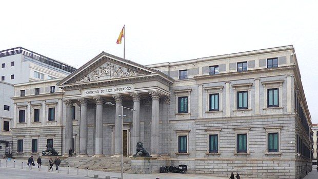 Španski parlament   Vir:Wikipedia