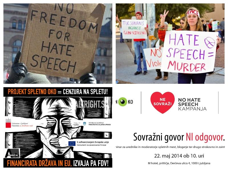 Sovražni govor - v tujini in Sloveniji