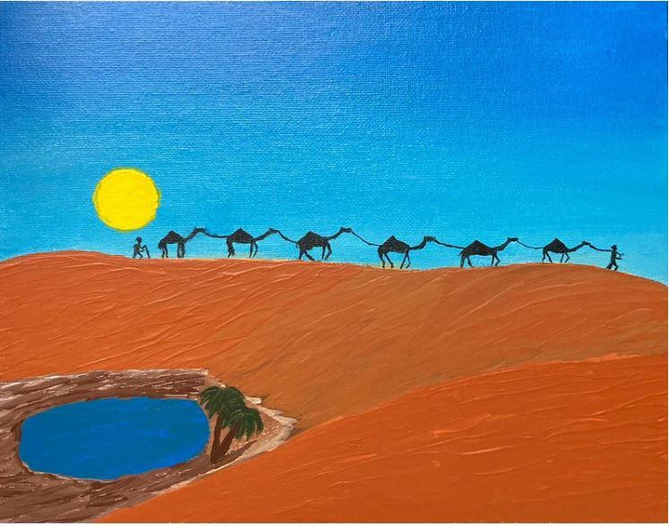 Slika Omarja bin Ladna - Spomini