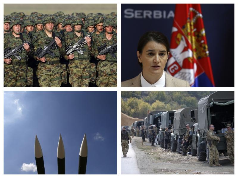 Srbija, Ana Brnabić, KFOR