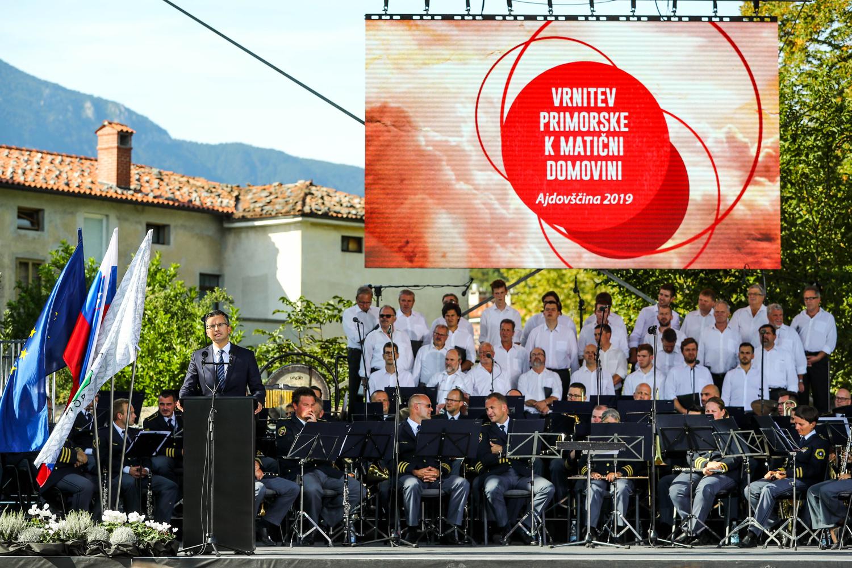 Priključitev Primorski - proslava