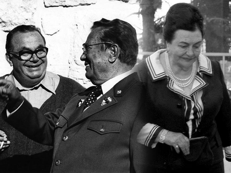 Stane Dolanc, Josip Broz Tito in Jovanka Broz