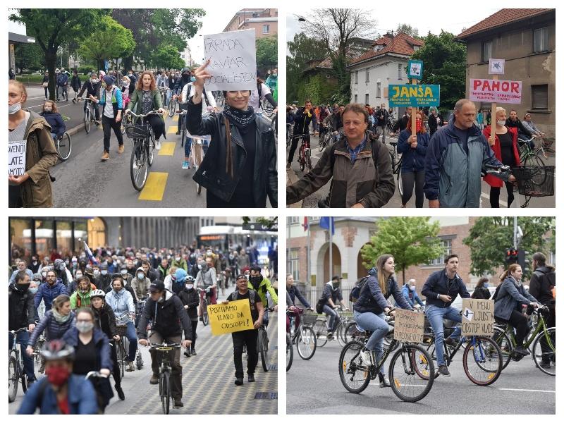 Protesti, 15. maj