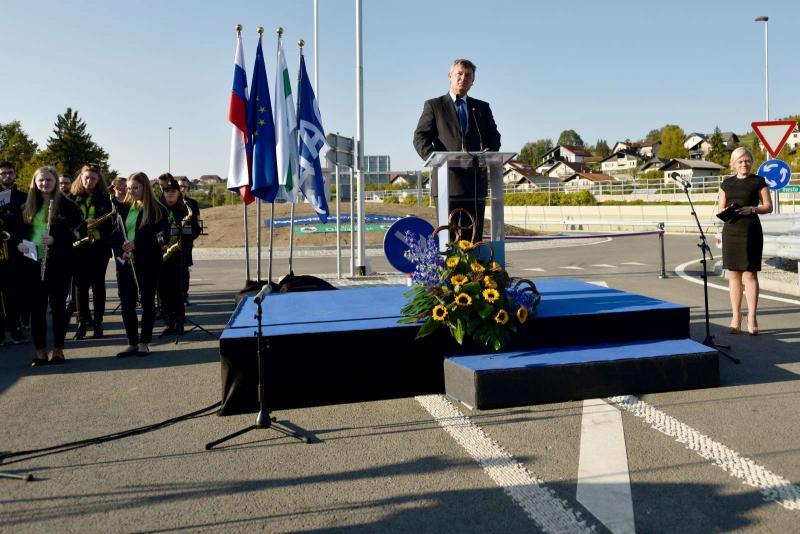 Avtocestni priključek Šmarje-Sap uradno odprt