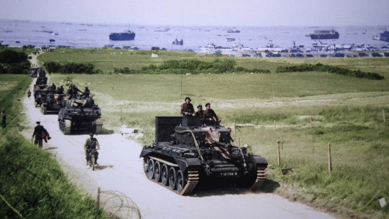 Retuširanje zgodovine: proslava 75-letnice izkrcanja v Normandiji kot poskus zmanjševanja vloge Sovjetske zveze