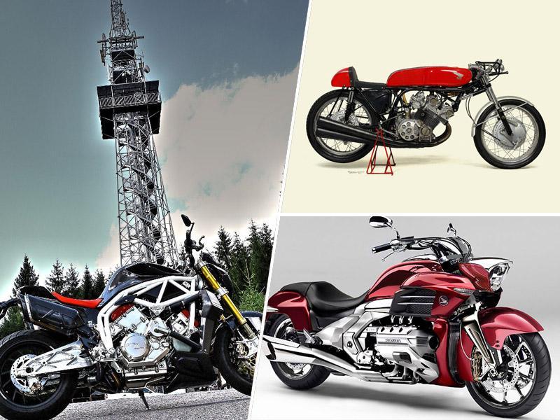 6 valjni motocikli, tehnični biseri
