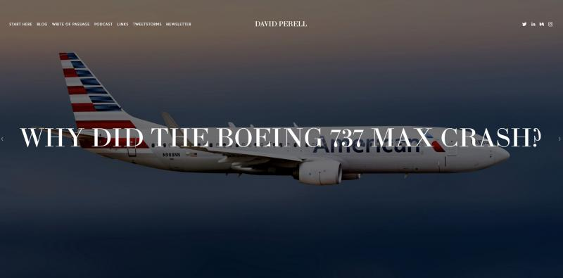 Zamolčana skrivnost: zakaj je Boeing namesto »čudovitih letečih strojev« pričel izdelovati »leteče krste«?