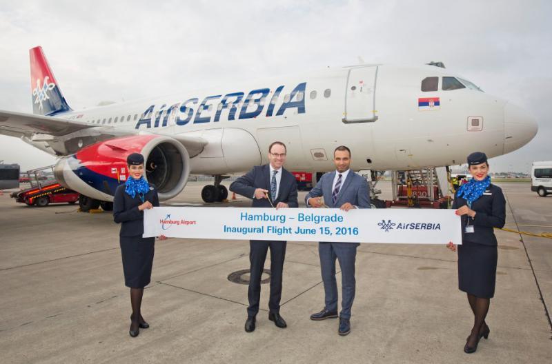 Letala Adrie Airways bodo znova letela – z jugoslovanskimi oznakami, prebarvana v barvah Air Serbie