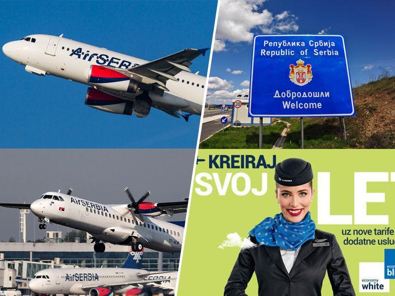 Prva v Evropi, boljša od Slovenije? Srbija odpravila vse omejitve potovanj, Air Serbia začela s poleti