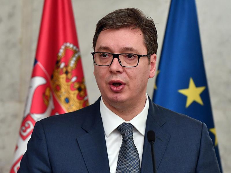 Vučić: Kosovski Srbi zaenkrat ne bodo ustanovili Skupnosti srbskih občin
