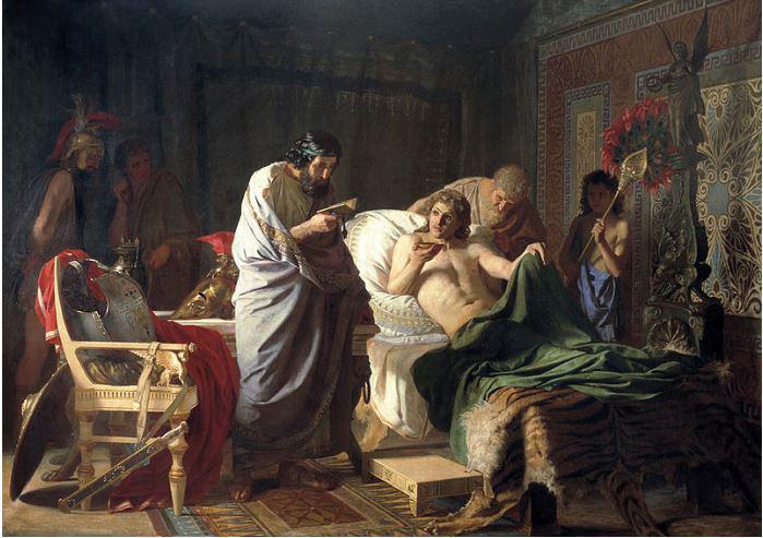 Odkritje: grški znanstveniki ugotovili vzrok smrti antičnega vojskovodje Aleksandra Velikega