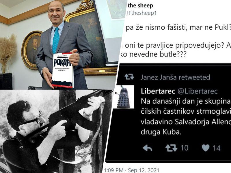 Fašista: Janša in »Libertarec« navdušena nad smrtjo Allendeja in Pinochetovim režimom, ki je pobil 130.000 ljudi!