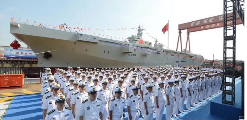 Tri na mah: Kitajska vojna mornarica v samo enem dnevu dobila tri nove ladje, v ZDA zaskrbljeni