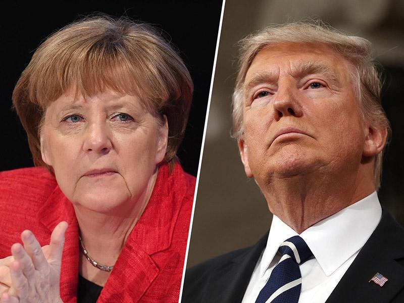 Angela Merkel: Trump se obnaša kot slon v trgovini s porcelanom