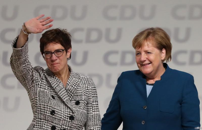 Angela Merkel ni več voditeljica CDU