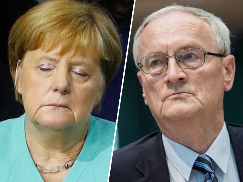 Nekdanji šef nemških vohunov: z odpiranjem meja Nemčije migrantom, je Angela Markel povzročila varnostno krizo