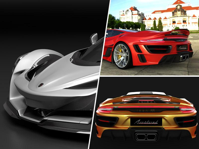 Ko je še Porsche premalo, Anibal Icon