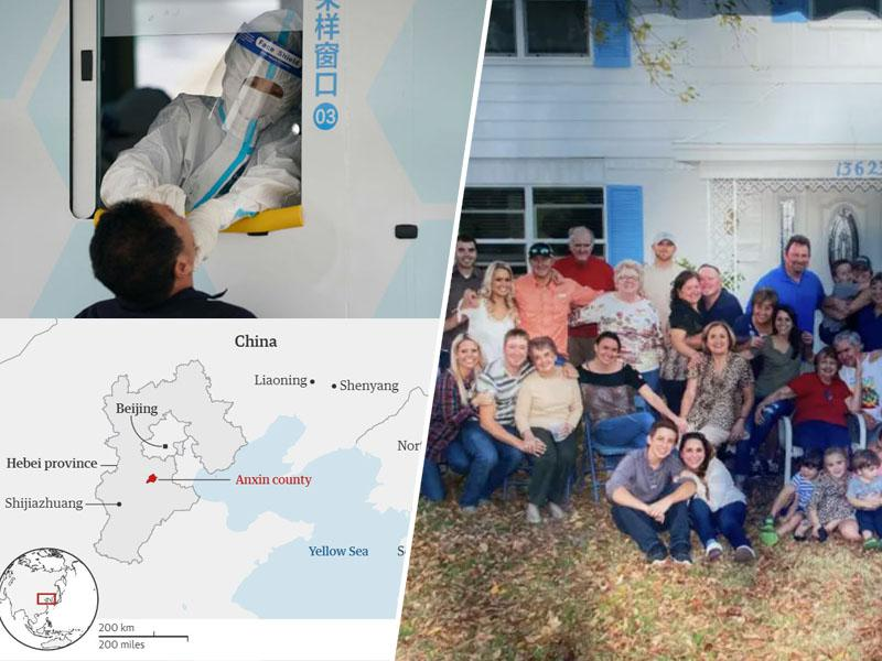 Na Kitajskem zaradi 18 primerov v karanteno 400.000 ljudi, enako število v ZDA okuženih samo na eni zabavi