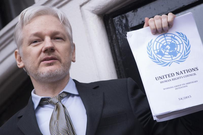 Obsodba Assangea na maksimalno kazen je nesorazmerna in v nasprotju celo z britansko sodno prakso