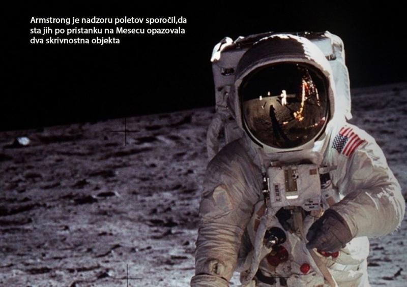 Ali lov za NLP-ji nad ZDA pritrjuje cenzuriranemu sporočilu Neila Armstronga z Meseca?