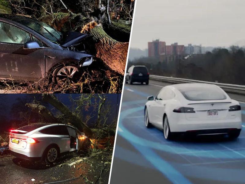 Ali tudi vaš avto obvlada ta trik? Dva pametna avtomobila sta z njim pravkar rešila - osem življenj