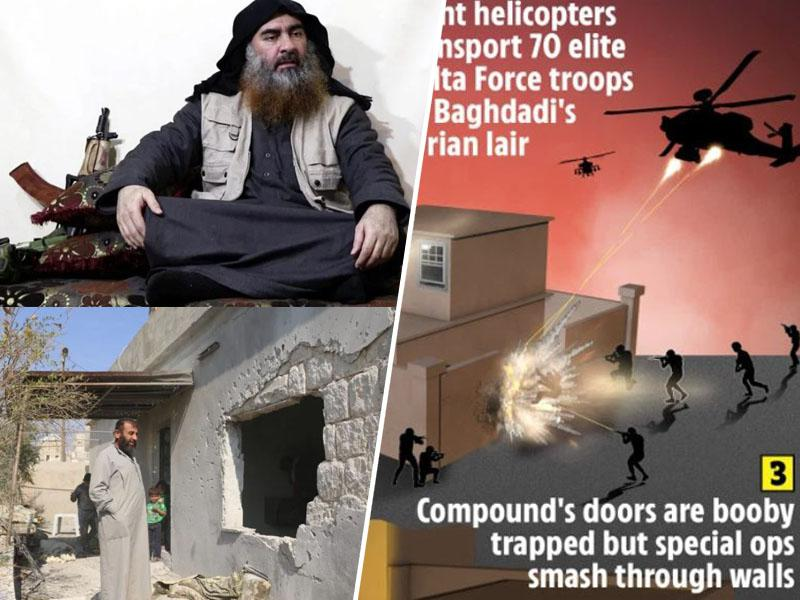 Likvidacija Al Bagdadija: moške spodnjice, načrti in kri za 25 milijonov dolarjev