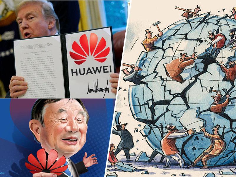 Opozorilo: Trumpov gospodarski napad na Huawei in Kitajsko bi lahko povzročil »balkanizacijo tehnologije«