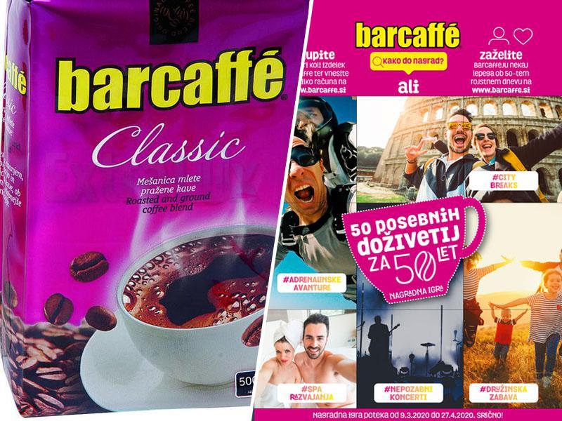 Barcaffe: 50 posebnih doživetij za 50 let