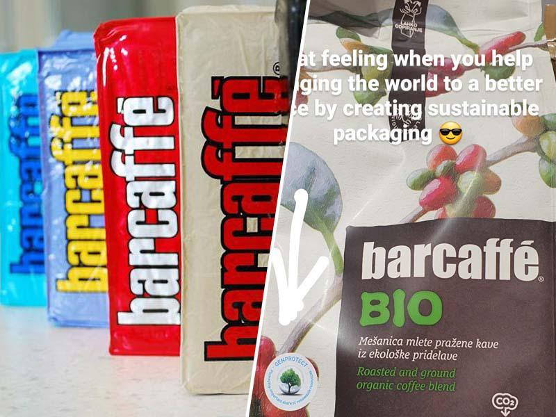 Prenovljena zunanjost Barcaffèja: Pol stoletja izbranih okusov odslej v okolju še prijaznejši embalaži